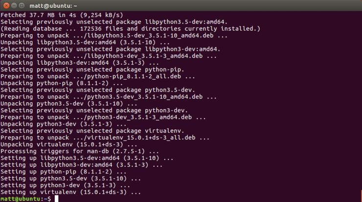 Как установить Python, Flask и Green Unicorn на Ubuntu 16.04 LTS