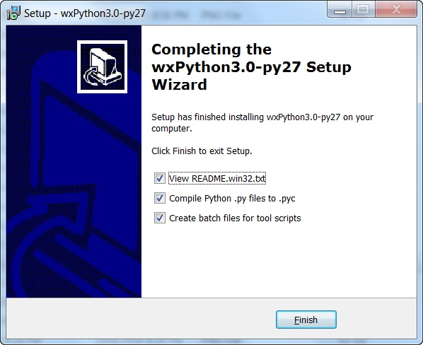 Установка wxPython на Windows, Mac OS X, Linux