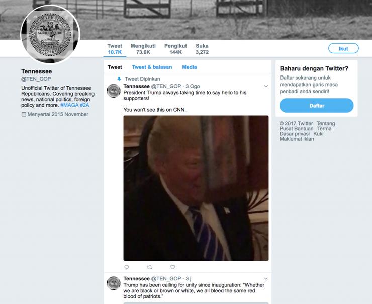 Анализ Twitter аккаунтов русских троллей в предвыборной компании Трампа