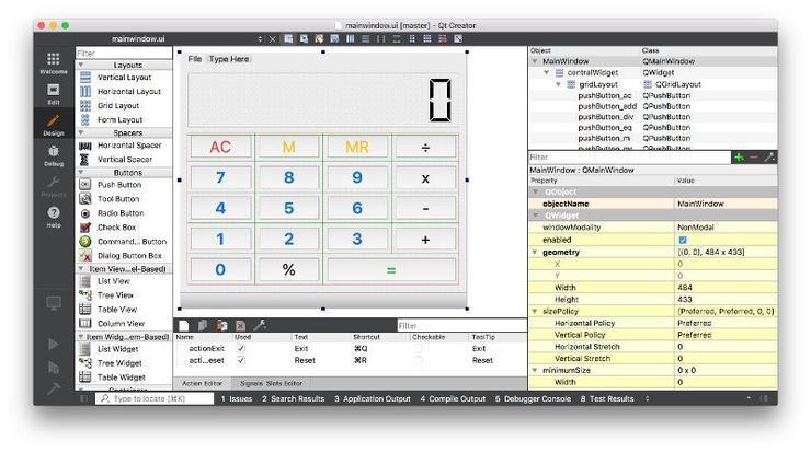 Создаем простой калькулятор в PyQt5