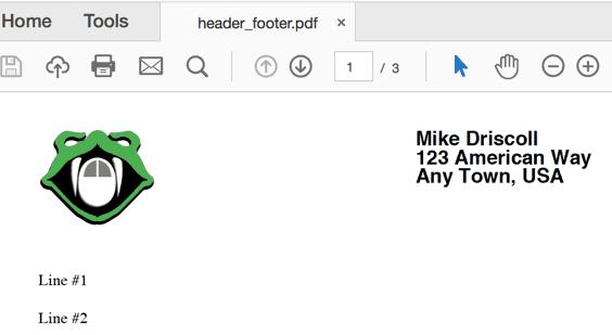 Создание PDF при помощи PyFPDF и Python