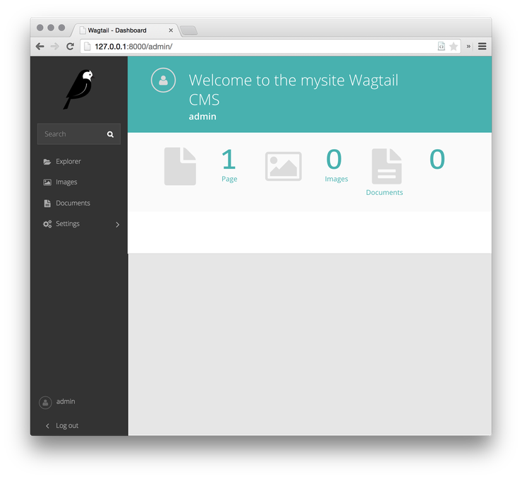 Создание сайта на Wagtail (CMS на Django)