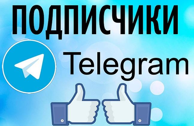 Купить подписчиков в Телеграм канал по цене 204 ₽ 1000