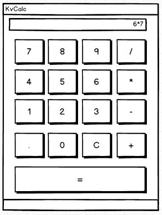 Kivy Calculator