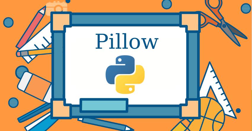Pillow примеры Python