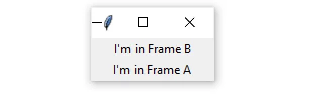 frame tkinter