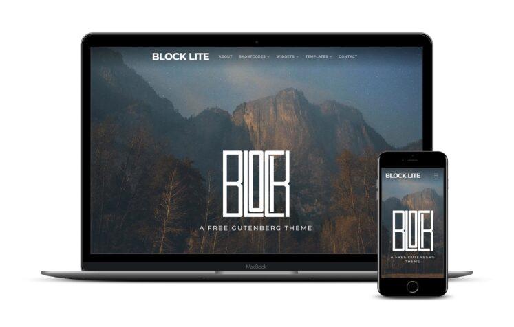 тема Block Lite