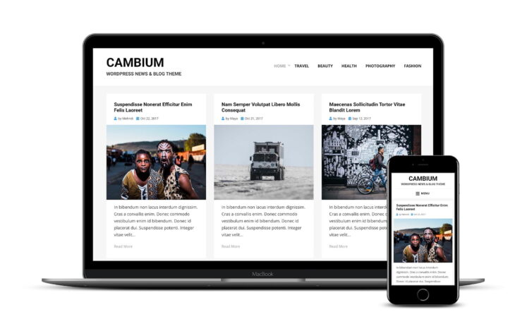 тема Cambium